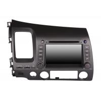 Buy cheap Double Din 7 inch Touch Screen Honda DVD Player GPS Voice Navigation from wholesalers
