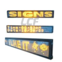 Buy cheap Yellow Color Scrolling LED Sign Moving Message Signs Showing Message & Picture from wholesalers