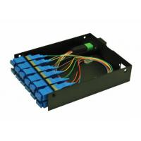 Buy cheap Pre Terminated MPO Patch Panel , MPO Casette Rack Mount Patch Panel from wholesalers