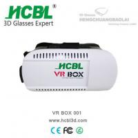 Buy cheap Comfortable 3D VR BOX GLASSES With Bluetooth , 3d Vr Headset from wholesalers