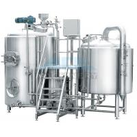 Buy cheap 10 Bbl Brewhouse 1000L Beer Brew Kettle with Fermenter from wholesalers