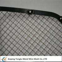 Buy cheap Stainless Steel Wire Mesh Car Grill Crimped With Opening 7/16×7/16 from wholesalers