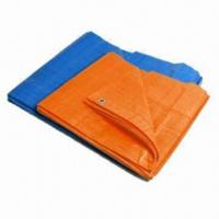 Buy cheap Poly tarp/tarpaulin, various colors are available from wholesalers