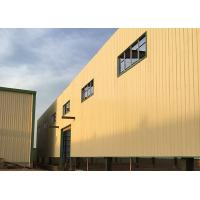 Buy cheap Sound Insulation Prefabricated Steel Structure Building Large Span High Strength from wholesalers