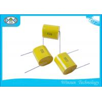 Buy cheap Axial Polypropylene Metallized Polyester Film Capacitor CBB20T With High Capacitance from wholesalers