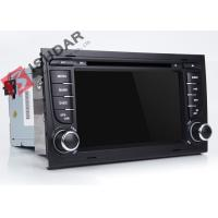 Buy cheap Split Screen Audi A4 2 Din Car DVD Player With Bluetooth Android 7.1.1 OBD from wholesalers