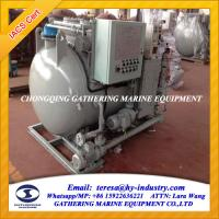 Buy cheap IMO MEPC.277(64) Latest Standard Marine Sewage Treatment Plant from wholesalers