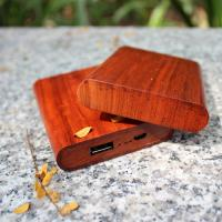 Buy cheap 4000mAh woody power bank for mobile phones/Private tooling woody for gift from wholesalers