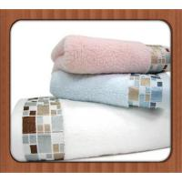 Buy cheap Wholesale High Quality Pure Color Plush Bamboo Microfiber Towel product
