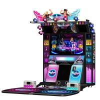 Buy cheap Coin Operated Simulator Game Machine Dancing Music Game Machines Video Electronic Game Machine Indoor Amusement Park from wholesalers