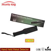 Buy cheap Wand Hand Held Security Metal Detectors For Public Place , Light And Sound Alarm from wholesalers