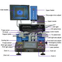 China Customized heating nozzles WDS-650 automatic motherboard chip repairing machine on sale