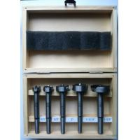 Buy cheap 5 Pieces Inch Size Carbon Steel Forstner Bit Set For Drilling Wood from wholesalers