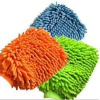 Buy cheap microfiber chenille mitt, cleaning gloves from wholesalers