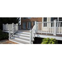Buy cheap Coffee Balcony Recycled Plastic WPC Deck Railing  With High Impact Resistant Low Mantain from wholesalers