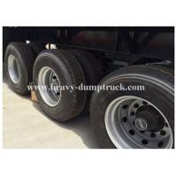 Buy cheap 40 Foot high Flatbed Semi Trailer with 3 axles for Carry container , cement bags with warranty from wholesalers