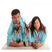 Buy cheap 2015 new design fleece hoodie dog clothes matching dog and human pet clothes clothes from wholesalers
