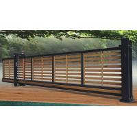 Buy cheap Wooden Automatic Sliding Gates , Residential Trackless Cantilever Gate  from wholesalers