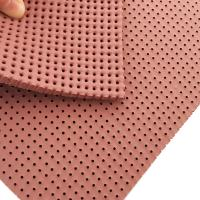 Buy cheap Washing liquor resistance perforated silicone foam pad for cloth ironing industry from wholesalers