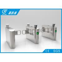 Office Building Swing Gate Turnstile Stainless Steel Housing 50 Person / Min