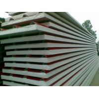 Buy cheap Corrugated Color Steel Sandwich PU Foam Wall Panels , Insulated Roof Panels from wholesalers