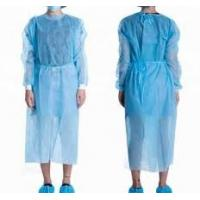 Buy cheap Anti Static Disposable Surgical Gown , Water Repellent PP Isolation Gown product