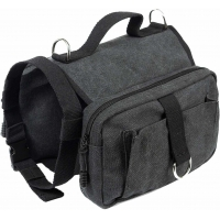 Buy cheap  				High Density Cotton Canvas Dog Carrier Backpack 60lbs Multi-Functional Dog Backpack 	         from wholesalers