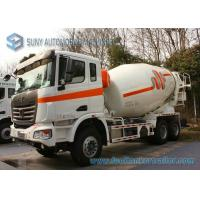 Buy cheap 6X4 C C Ready Mix Concrete Truck 12000 Litres 380Hp Detachable 130 CM Chute product