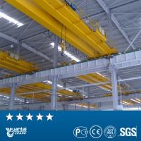Buy cheap YUANTAI certified LH model double girder overhead hoist crane from wholesalers