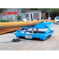 Buy cheap Rail Mounted Oil Hydraulic Scissor Lift Trolley With Operation Platform from wholesalers