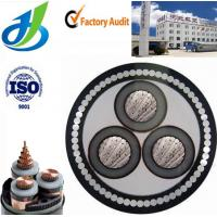 Buy cheap 3 Cores XLPE Insulated Power Cable , High Voltage Power Cable Up to 35KV from wholesalers
