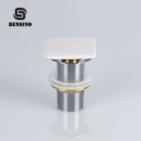 Buy cheap Ceramic Head 10CM*10CM 10000 Times Sink Overflow Plug from wholesalers