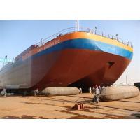 Good Damping Capacity Marine Rubber Airbag Reinforced Fiber Material Long Lifetime