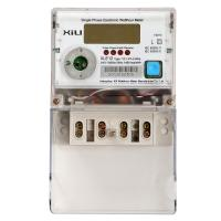 Single Phase multi function energy meter , electrical energy power meters for home