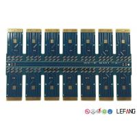 Buy cheap Fr4 Blue Solder Optical PCB Circuit Board For Communication Module 1.6 MM from wholesalers