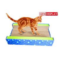Buy cheap Luxury Corrugated Cat Scratcher , Paper Cardboard Cat Sporting Toys from wholesalers