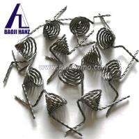 Buy cheap vacuum coating 0.8mm*3-Strand pure twisted tungsten wire for sale from wholesalers