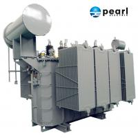 110kV - 6300 KVA Power Distribution Transformer Safety High Voltage Power Transformer