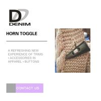 Buy cheap High Durability Horn Coat Buttons Washable Sweater Clothing Accessories from wholesalers