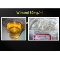 Buy cheap White Crystalline Best Muscle Building Steroid Cutting Cycle Winy / Winstrol 50mg from wholesalers
