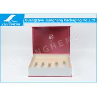 Buy cheap Pink Cool Cosmetic Packaging Boxes Disposable Paperboard With Foam Insert from Wholesalers