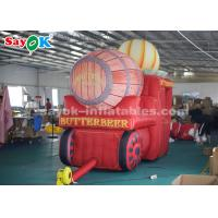 Buy cheap High Air Tightness Inflatable Holiday Decorations Halloween Pumpkin Carriage from wholesalers