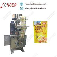 Buy cheap Automatic Potato Bananas Chips Packaging Machine Price, High Quality Filling Function pouch packing machine from wholesalers