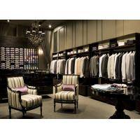 Buy cheap Man Brand Clothing Display Showcase High End With Triangle Landing Support product