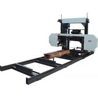 Buy cheap MJ1000 diesel portable sawmill,wood working horizontal band saw mills, log cutting bandsaw from wholesalers