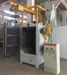 Buy cheap Small Spinner Hanger Industrial Shot blasting Machine, Universal Abrasive Blast Machine Rotate Diameter 400mm from wholesalers