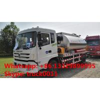 Buy cheap 4x2 Dongfeng 8 ton 12tons intelligent bitumen sprayer truck, factory direct sale dongfeng 8,000L asphalt distributing v from wholesalers