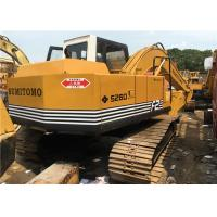 Buy cheap Sumitomo S260F2 0.5m3 Bucket Capacity 10800kg Used Excavator Machine from wholesalers