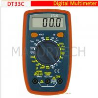 Buy cheap 3 1/2 Digital Multimeter 200mV-500V DT33C from wholesalers