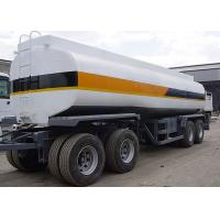 Buy cheap 25000L 4 Axles Drawbar Carbon Steel Tanker Trailer for Fuel or Diesel Liquid Delivery from wholesalers